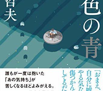 心惹かれる「青」で描かれた切ないイメージ。『銀色の青』表紙イラストレーション|装画=しらこ
